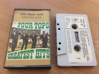 THE FOUR TOPS GREATEST HITS (1968 - TC-STML 11061) CASSETTE TAPE ALBUM MB9