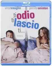 Blu Ray • Ti Odio ti Lascio Ti . JENNIFER ANISTON VINCE VAUGHN COMMEDIA ITALIANO