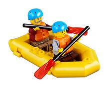 LEGO® Minifiguren Schlauchboot mit 2 Padlern aus 60202