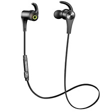 SoundPEATS Bluetooth Headphones In Ear Wireless Earbuds 4.1 Magnetic S