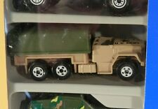 Hot Wheels Action Command 5 Pack Tail Gunner Half-Track ERROR Troop Transport