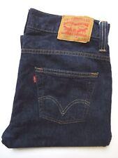 Jeans Levis 506 Standard da Uomo Gamba Dritta W34 L28.5 Dark Blue Strauss levj 631 #