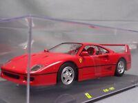 Ferrari Collection F40 1987 1/24 Scale Box Mini Car Display Diecast vol 1