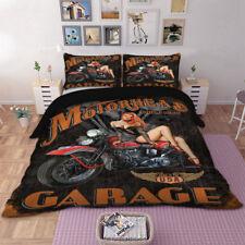 Gabage Quilt/Doona/Duvet Cover Set Gothic Single Queen King Size Pillowcases New