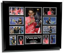 RAFAEL NADAL 2017 US OPEN SIGNED LIMITED EDITION FRAMED MEMORABILIA