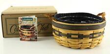 Longaberger 1998 Collectors Club Renewal Basket & Liners Combo Original Box