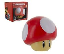Super Mario Mushroom Night Light With Sound NEW