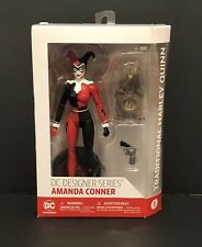 "DC Designer Series By Amanda Conner~Traditional Harley Quinn 7"" Action Figure"