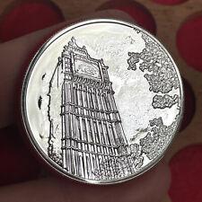 More details for elizabeth ii, silver £100 coin, 2015. big ben.