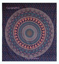 Indian Tapestry Wall Hanging Mandala Hippie Queen Bedspread Blankets Decor Throw