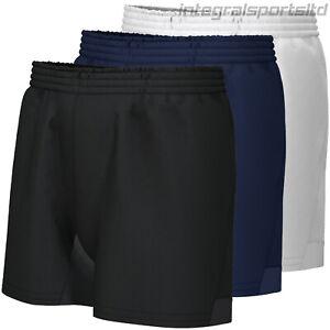 i-sports Rugby Shorts Boys Kids Reinforced Pro Training Plain Short For School
