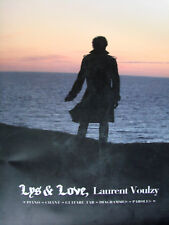 "LAURENT VOULZY ""LYS & LOVE"" 12 CHANSONS PIANO GUITARE TABLATURES"