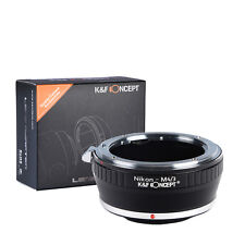 K&F Concept adapter for Nikon F mount lens to Micro 4/3 M4/3 Mount Adapter G3 GH