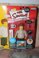 The Simpsons Brad Goodman Interactive Playmates 13cm Figurine