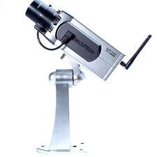 Kamera Dummy Attrappe Alarmanlage schwenkbar mit LED Licht