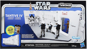 """STAR WARS THE VINTAGE COLLECTION  3.75"""" ACTION FIGURE PLAYSET TANTIVE IV HALLWAY"""