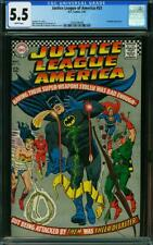 Justice League of America #53 CGC 5.5 -- 1967 -- Batman. Superman #2036496008
