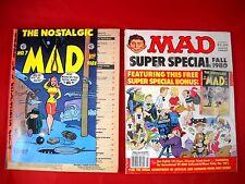 Comicpaket - 3x Comics - MAD Sammlung - davon 2 in englischer Sprache
