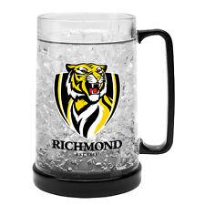 Richmond Tigers AFL Logo Ezy Freeze Beer Mug Stein **AFL OFFICIAL MERCHANDISE**