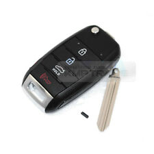 OEM Keyless Entry Fob Folding Key Remote Control Blank For KIA 2013-17 Cerato K3