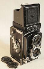 Late Model MINOLTA Autocord TLR Camera with 1:3.5 f=75mm Rokkor Lens + Lens Cap
