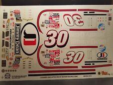 Derrik Cope Jimmy Dean Pontiac Grand Prix 1/24 Scale Decals Slixx