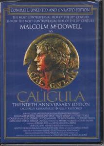 CALIGULA - UNEDITED & UNCUT 20TH ANNIVERSARY DIGITALLY RESTORED EDITION NEW DVD