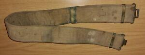 Original  P69 Rhodesian Web Belt (With hoops removed)