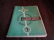 J. G. Braun Company Architectural Aluminum Products Catalog 55 Ornamental