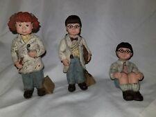 Sarah's Attic Doctor Whimpy Dentist Cupcake Figurine Resin Figure Lot