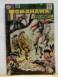 Tomahawk #81 VG 1962 DC Comic Book Silver Age Western 1st Miss Liberty