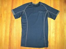Tesla Navy Blue Cool Dry Compression Baselayer Short Sleeve T Shirt Sz 2Xl Nwt