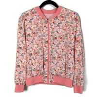 New Stitch Fix | Katie Sturino Palmer Bomber Jacket - Pink Floral - Size Small
