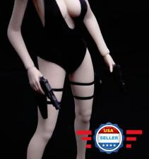 1/6 scale One Pair of Leg Holsters w/ Pistols for 12'' Female Figure Accessory