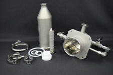 "Stainless Steel Pharmaceutical Filtering Cylinder Housing 15""L x 4"" Diameter"