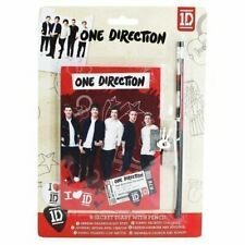 1D One Direction secret diary / pencil NEW