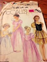 """VINTAGE """"1960's"""" McCALL'S PATTERN #3455 SIZE 8 Girl's Gown or Dress."""