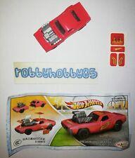 TR130 Roger Dodger Mit Bpz Aus China Ferrero 2013/2014 Kinder Joy Hot Wheels