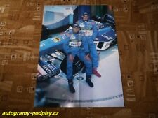 Giancarlo FISICHELLA / Alex WURZ (Benetton) - 1998 poster 4xA4 Format