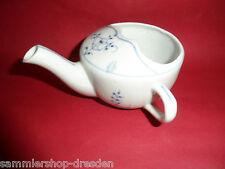 23834 Schnabeltasse Giesser Uralt Porzellan Strohblume indischblau vin sippy cup