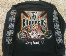 Vintage 2000 Mens Medium Jesse Who CFL West Coast Choppers Long Sleeve T-shirt