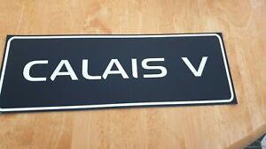 Holden Calais V  dealership number plate surrounds(pair)