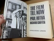 """1967 """"THE FILM UNTIL NOW"""" SURVEY OF WORLD CINEMA ILLUSTRATED THICK HARDBACK BOOK"""