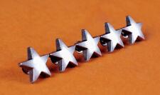 "30pcs STAR Metal Rivet Studs 5/8"" (15mm ) Leather Crafts Purse Belt Decor Concho"