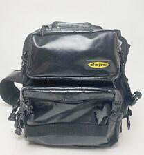Deps Tarpauline Fishing Shoulder Bag Black (9969)