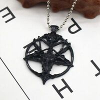 Retro Skull Skeleton Necklace Fashion Jewelry Pendant Goat Head Sheep Chain