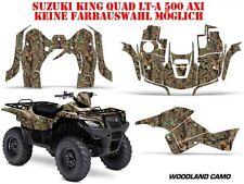 Amr racing decoración kit ATV suzuki King quad lta 450/500/700/750 Woodland camo B