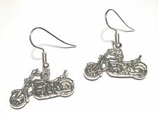 motorcycle earrings bike week biker chick harley hd