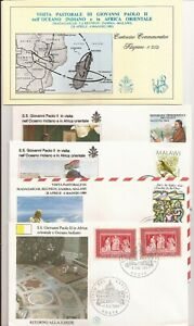 Pope's visit to Africa- 12 FDCs- April 1987