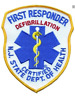 NJ First Responder DEFIBRILATION Shoulder Patch #5343